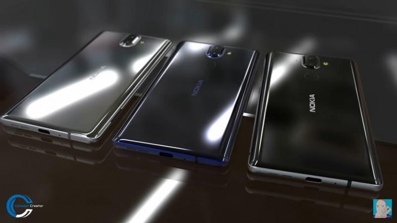 Nokia 9 as seen on Concept Creator video