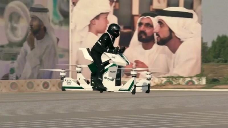 Hover bike of Dubai Police