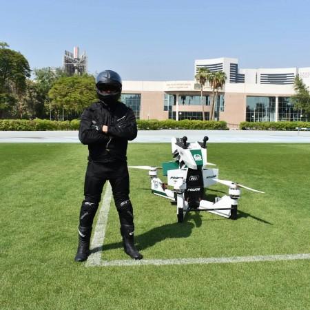 Dubai Police's hover bike