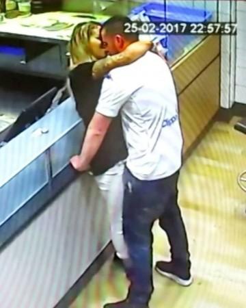 weird news, sex, Domino's pizza, England,  couple,