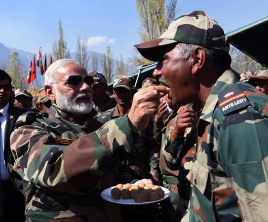 Modi army sweets