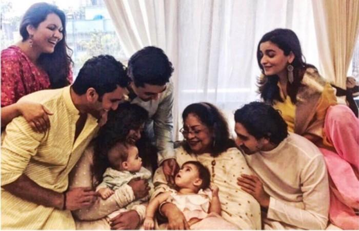 Alia Bhatt Karan Johar twins Roohi and Yash