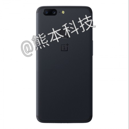 OnePlus 5T back render