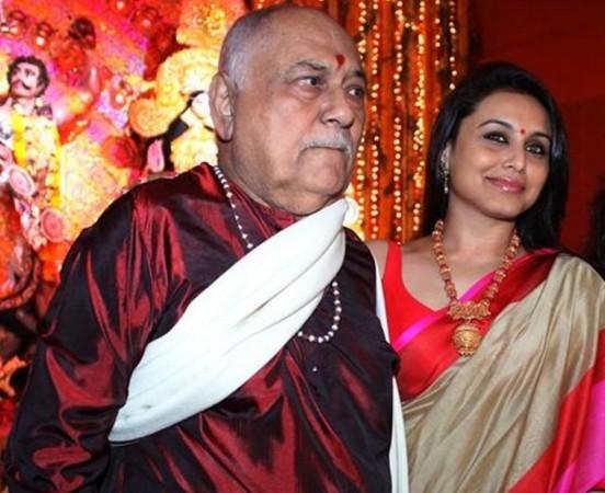 Rani Mukerji Father Ram Mukerji