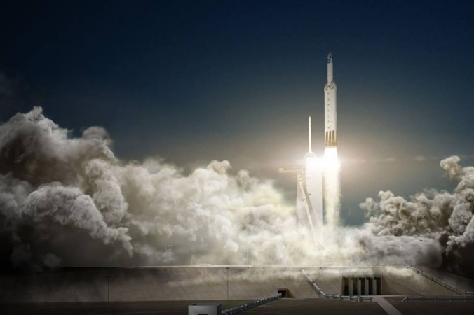 SpaceX, Falcon Heavy rocket, Elon Musk,