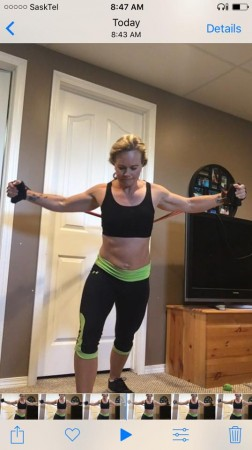 chest fly, resistance band, chest, exercise, work out,