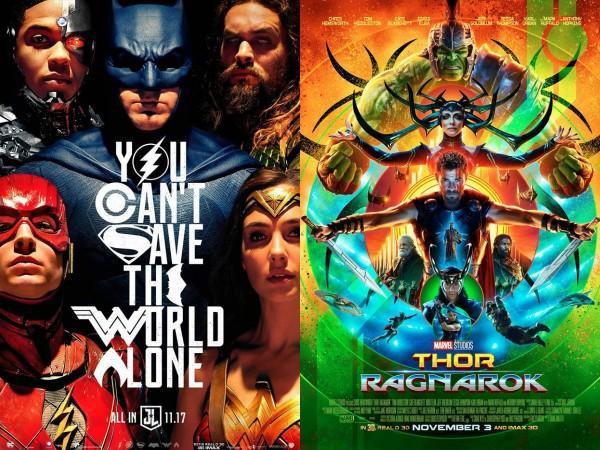 Thor Ragnarok Justice League