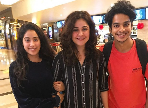 Janhvi Kapoor and Ishaan Khattar Secret Superstar