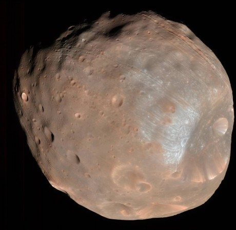 nasa, Phobos, solar wind, Martian moon,