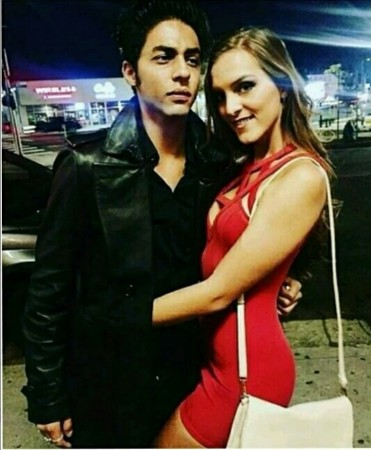 Aryan Khan with mystery girl