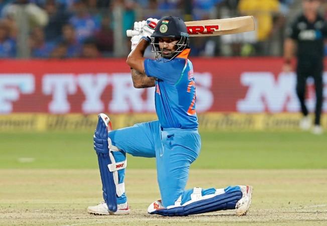 Shikhar Dhawan, India vs New Zealand