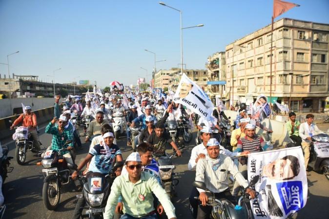 AAP roadshow in Gujarat