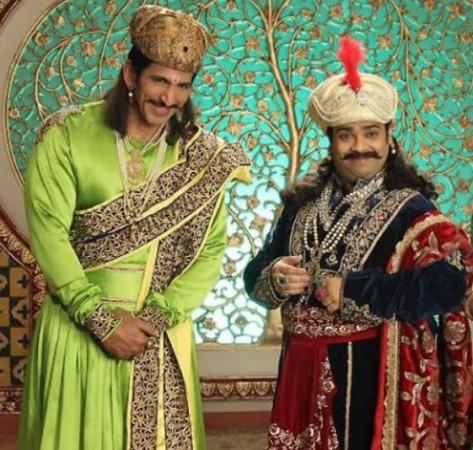 Vishal Kotian (left) and Kiku Sharda