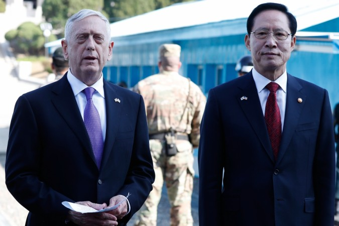 Image result for US Defense Secretary James Mattis said - We do not want war with North Korea