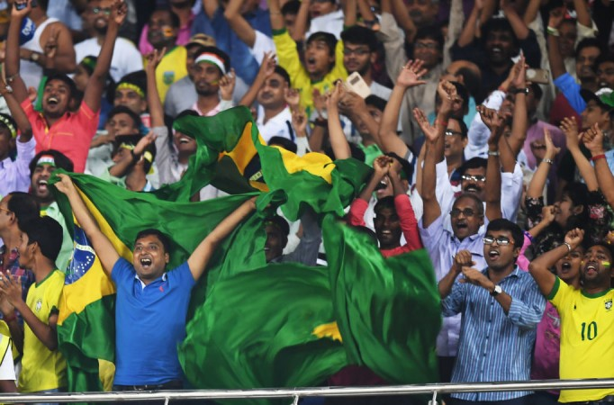 Inida crowd at U17 World Cup