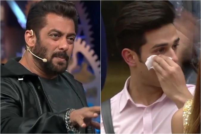 Salman Khan Priyank Sharma Weeked Ka Vaar Episode