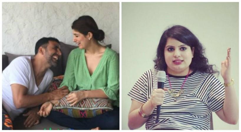 Akshay Kumar, Twinkle Khanna and Mallika Dua