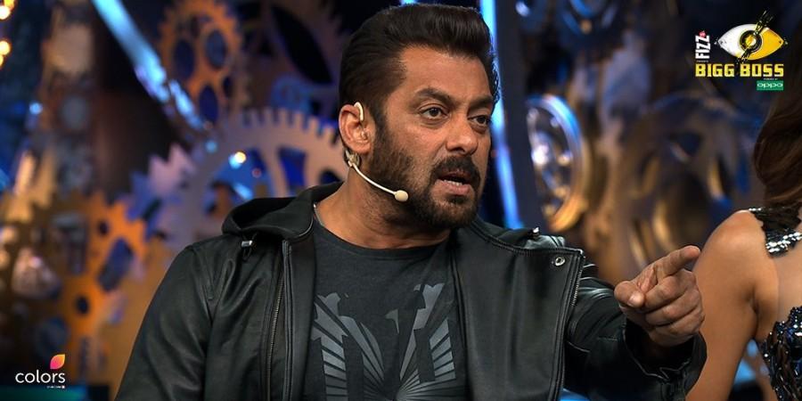 Salman Khan in Bigg Boss 11