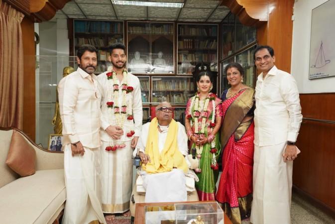 Vikram's daughter wedding