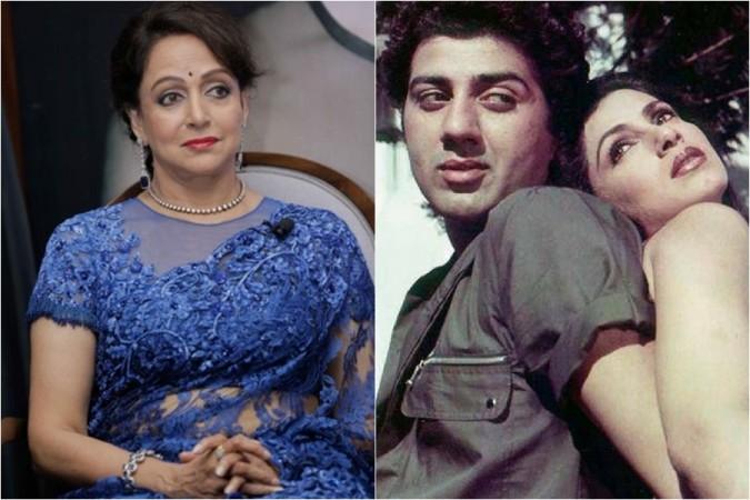 Hema Malini Sunny Deol and Dimple Kapadia