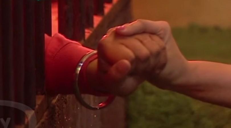 Shilpa Shinde and Vikas Gupta hold hands