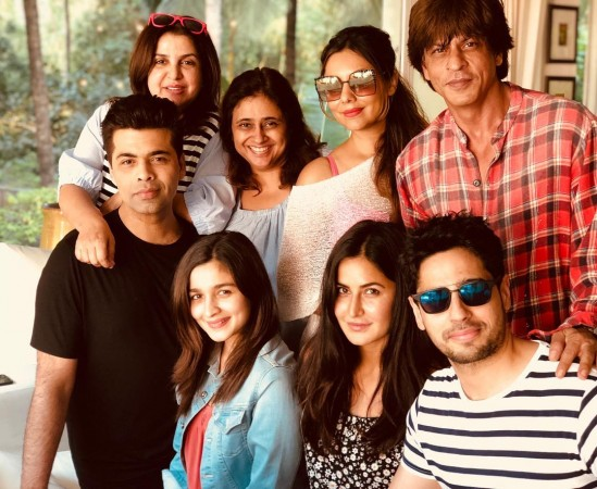 Shah Rukh khan's 52nd birthday party with guests