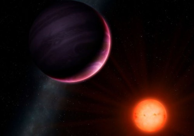 NGTS-1b gas giant planet and its star