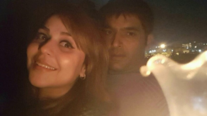Kapil Sharma and Ginni Chatrath