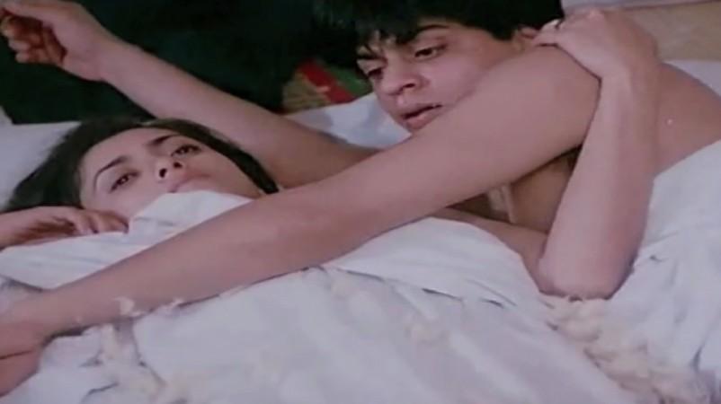 Shah Rukh Khan and Deepa Sahi in Maya Memsaab (1993)