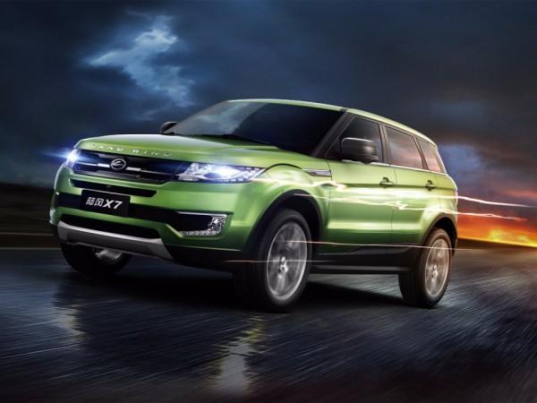 No Longer A Copycat Range Rover Evoque S Chinese
