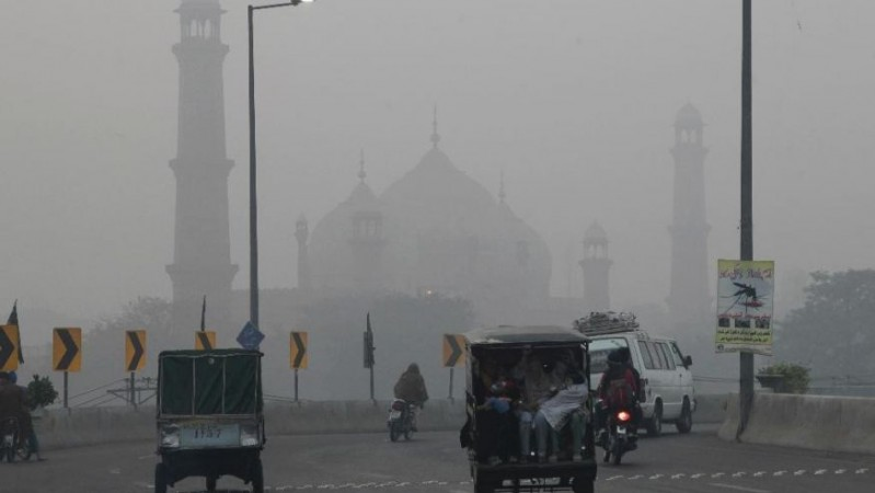 smog in pakistan