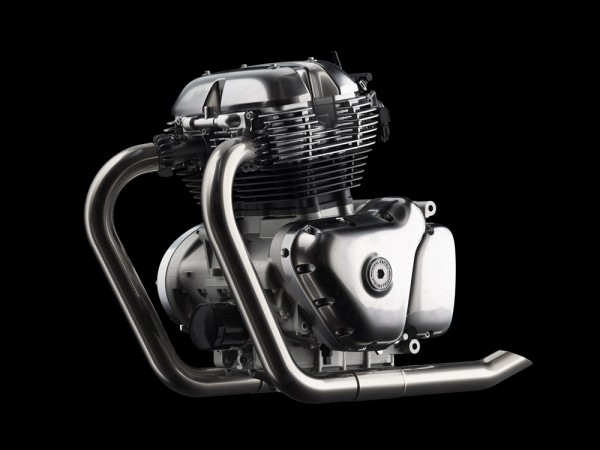 Royal Enfield 648cc Parallel Twin Engine
