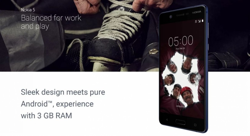 Nokia 5, 3GB RAM, HMD Global Oy, Flipkart, price, specifications