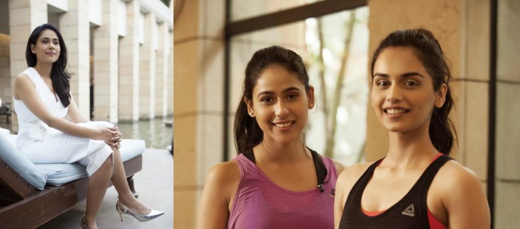 Nmami Agarwal with Manushi Chhillar
