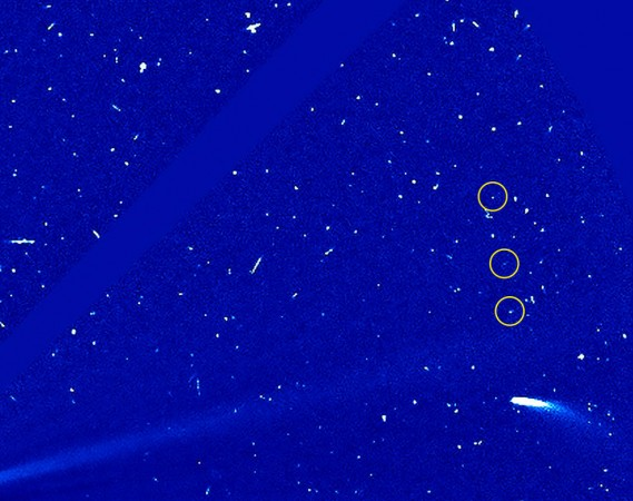 nasa, comet 96 P, SOHO,