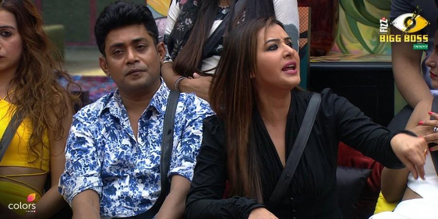 Shilpa Shinde during Bigg Boss 11 Weekend ka Vaar episode