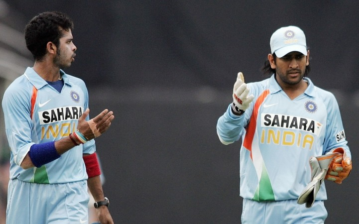 MS Dhoni and Sreesanth
