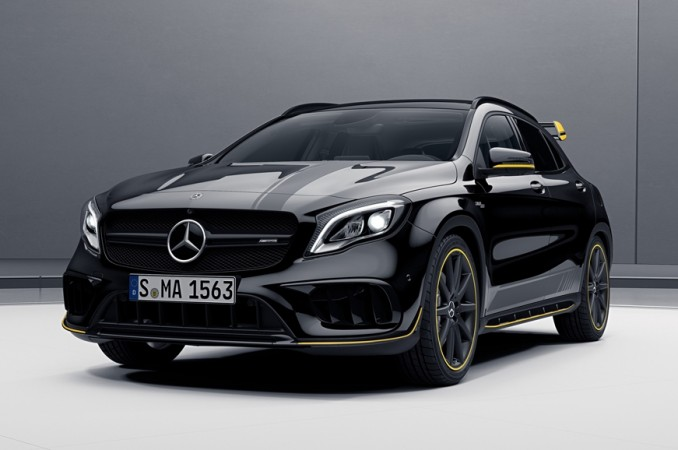 2017 mercedes amg cla 45 gla 45 launched in india with. Black Bedroom Furniture Sets. Home Design Ideas