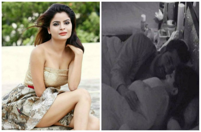 Gehana Vasisth (left), Puneesh and Bangdi (right)