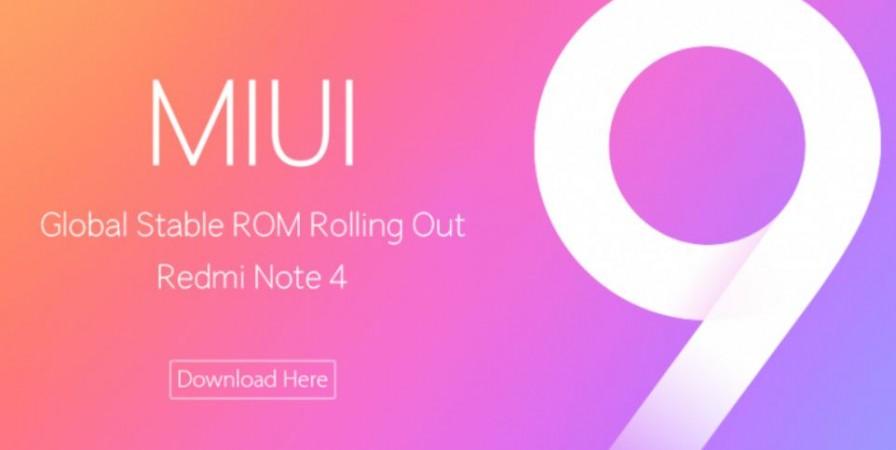 Xiaomi, Redmi Note 4, MIUI 9 Global ROM, how to install, OTA update