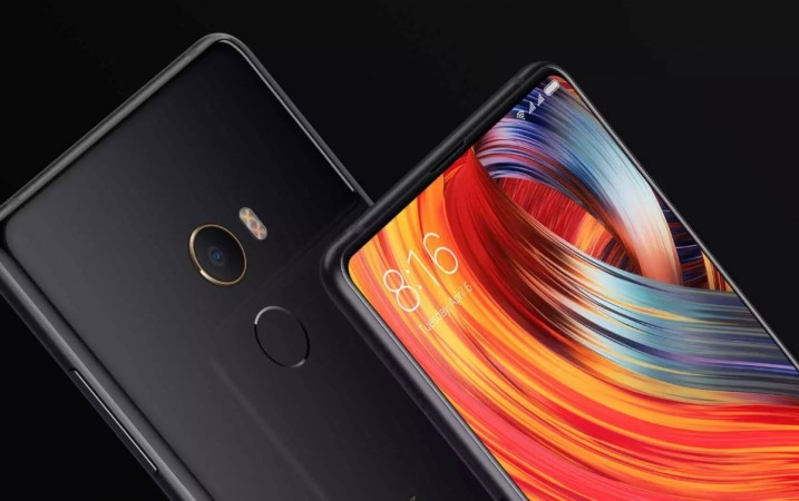 Xiaomi Mi Mix 2 as seen on its official website