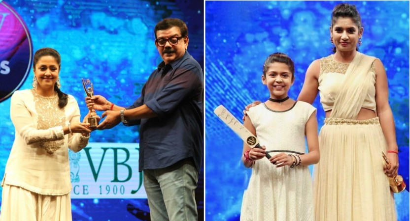 JFW Awards 2017: Watch Jyothika's emotional speech, Diya Suriya's