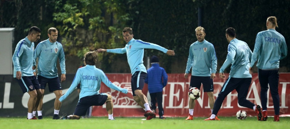 World Cup qualifiers, Croatia vs Greece