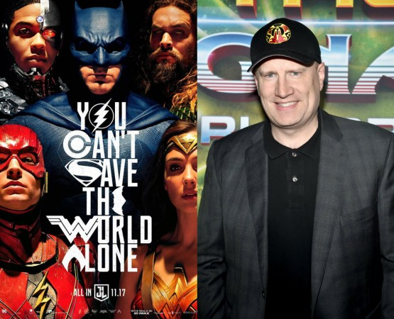 Justice League, Marvel, Kevin Feige