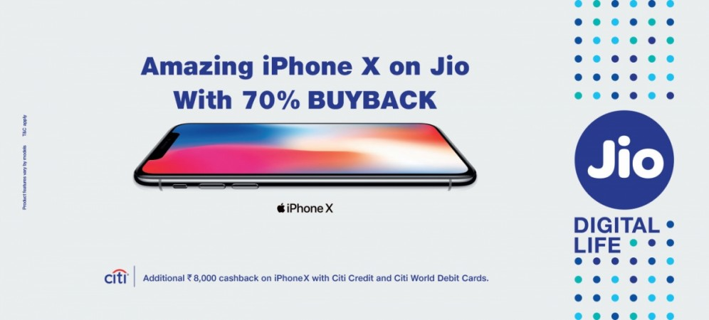 Jio Offers For Apple's iPhone 8/ iPhone 8 Plus/ iPhone X
