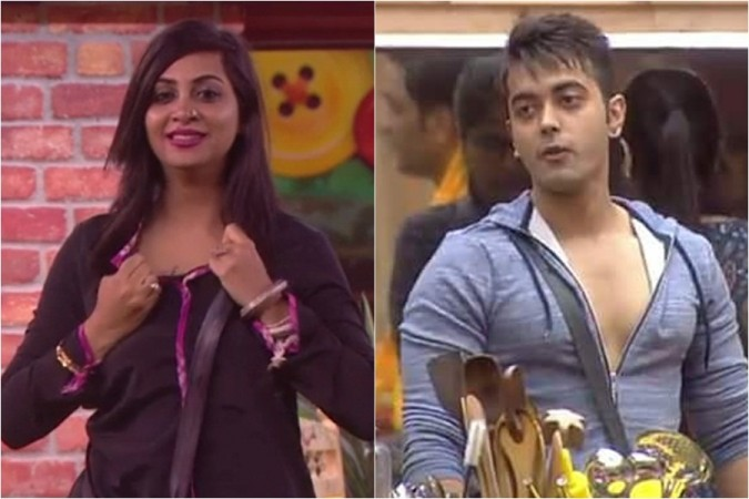 Arshi Khan and Luv Tyagi