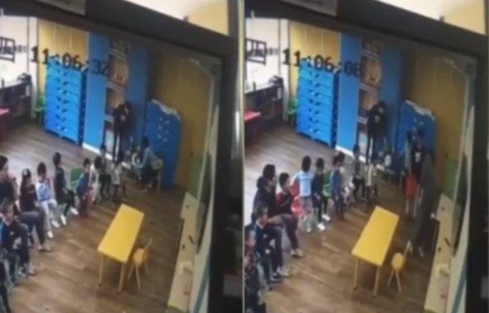 Kid tortured in China
