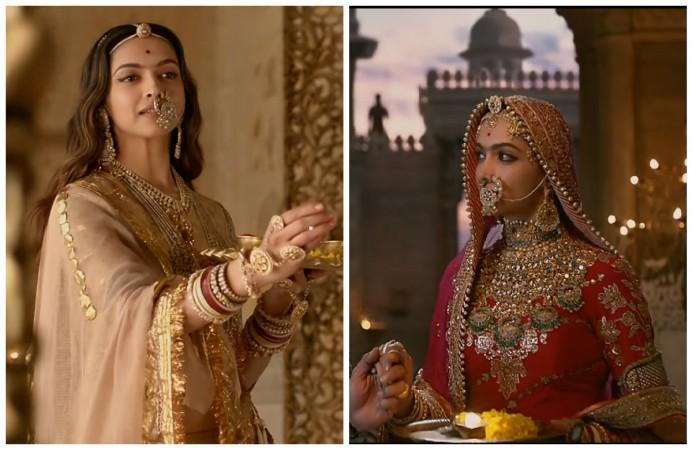 Deepika Padukone looks regal every frame of Padmavat