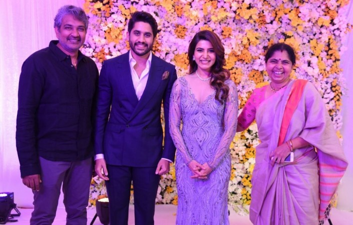 Samantha-Naga Chaitanya Wedding Reception Photo