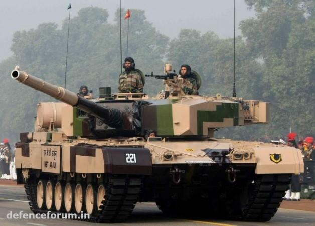 Arjun main-battle tank